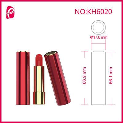 Elegant Round Cosmetic Packaging Lipstick Tube For Custom Kh6020