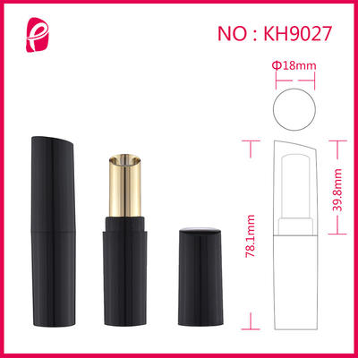Double Colors Cottect Lipstick Package Tube With Inclined Mouth Kh9027